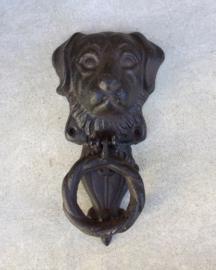 Gietijzeren deurklopper Labrador