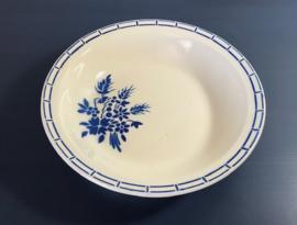 Badonviller demi-porcelaine diepe schaal saladière