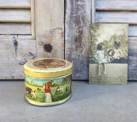 Snoepgoed blikje Galliot d'Isigny /caramels Isicrem