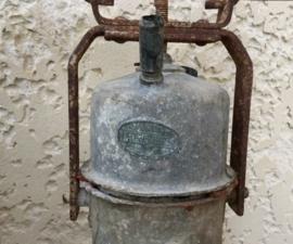 Mijnwerkerslamp Arras in originele staat