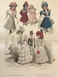 Le Moniteur de la Mode lithographie Abel Gouband Ed. Paris D