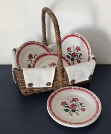 Badonviller opaque porcelain ontbijtbordje