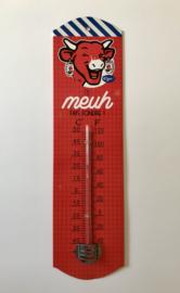 La vache qui rit reclame blikken thermometer