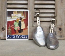 Franse metalen schoenspanners uit circa 1910 André 120 Maisons Paris