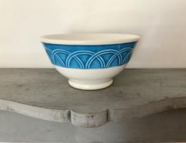 Italiaanse bowl van Quadrifoglio Ceramica Italy circa 1950