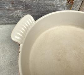 Le Creuset keramiek gietijzeren ovenschotel oranje 22 cm