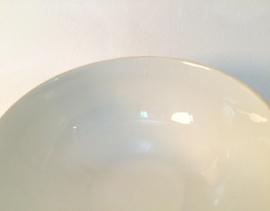 Witte facet kom bowl spoelkom hoogte 6,5 cm