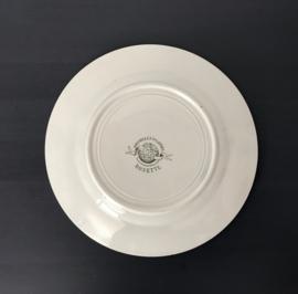 St. Amand & Hamage Nouvelles Galeries Terre de Fer Rosette ontbijtbordjes