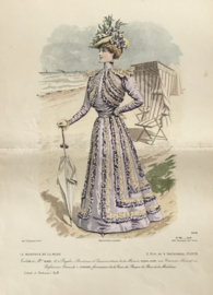 Le Moniteur de la Mode lithographie Abel Gouband Ed. Paris i