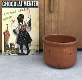 Terracotta kaasmal geglazuurd ambachtswerk