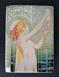 Franse reclamekaart Absinthe Robette