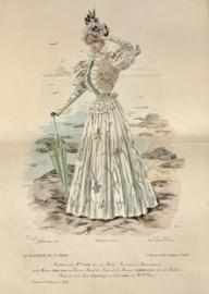 Le Moniteur de la Mode Lithographie kleur Abel Gouband Ed. Paris A
