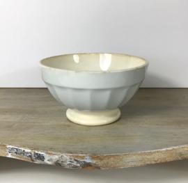 Digoin Sarreguemines bowl Terre de Fer baby blauw 1920-1950