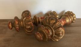 Antiek bois doré ornament (origineel) 19e eeuws