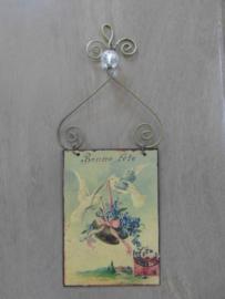 Decoratie hanger « Bonne fête »