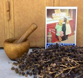 Vijzel en stamper olijvenhout klein model
