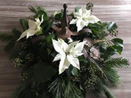 Decoratieve stevige smeedijzeren brocante kroon