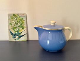 Villeroy & Boch Frans theepotje blauw/wit