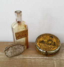 Antiek Frans flesje van de Pharmacien (apotheek) Carpentras
