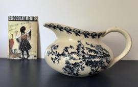 Antieke Faïence de Gien lampetkan broc model Chardon 1886-1938