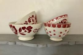 Digoin Sarreguemines grote café au lait bowl uit 1930