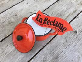 Vintage En réclame kaartje van slager uit de Provence