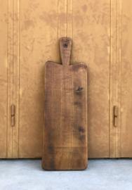 Ambachtelijke broodplank uit de Savoie Pyrografie houtsnijwerk