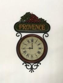 Wandklok Provence