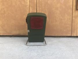 Vintage Varta zaklamp groen