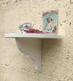 Wit houten console handwerk