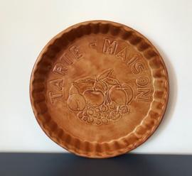 Tarte maison terracotta ronde quiche bakvorm taartvorm