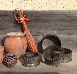 Set van 6 antieke Franse bakvormpjes