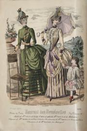 Journal des Desmoiselles modes de Paris 1-8-1886 nr. 4584