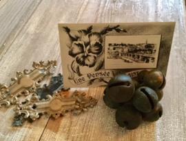Antieke bronzen jingle bells oftewel koeienbellen