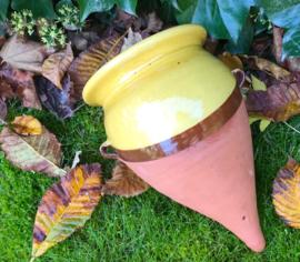 Provençaalse terra cotta Amphora hangpot kruik muurpot