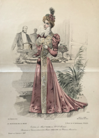 Le Moniteur de la Mode lithographie Abel Gouband Ed. Paris K