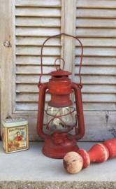 Vintage Germany 275 Baby Feuerhand lamp met Jena glas
