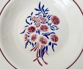Badonviller Francine diepe borden soepborden (1900-1905) 8 x