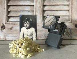 Unieke Franse kleine diaprojector uit de jaren 50