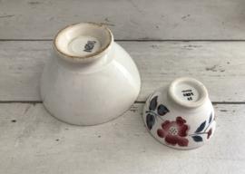 Digoin Sarreguemines antieke bowl spoelkom circa 1930