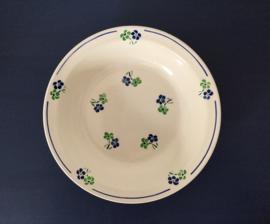 Badonviller Fenal Régence demi-porcelaine saladier schaal