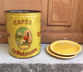 Groot blik vertind Cafés Le Brésilien