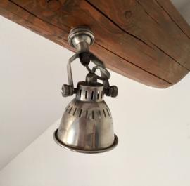 """Wandlamp spotje antiek """"zilver"""" industrieel kwaliteit!"""
