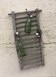 Antiek Frans groen flesje met beugeldop