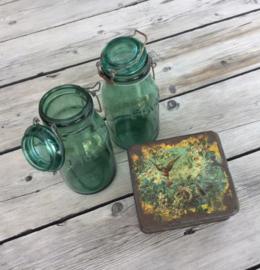 L'Idéale groene weckpot weckfles