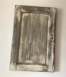 Brocante Frans deurtje voor decoratie