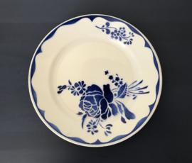 Lunéville dinerbord blauwe bloemen