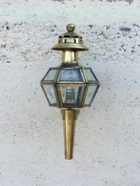 Koperen Franse wandlamp