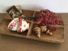 Antieke Franse bowl kom spoelkom Bordeaux rood fruit