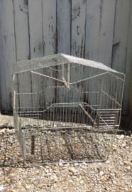 Vogelkooitje met 5 deurtjes, aluminium